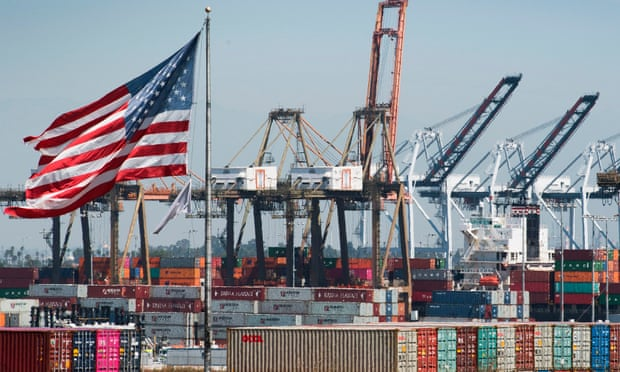 US trade deficit falls to three-year low in wake of China standoff